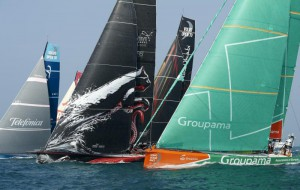 cfd sailing yacht volvo ocean race