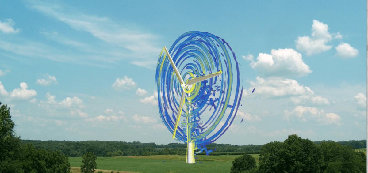 wind turbine cfd flow simulation